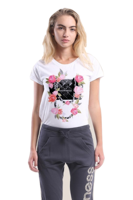 T-SHIRT DA DONNA HAPPINESS 2109