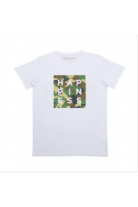 T-SHIRT UOMO HAPPINESS L001CAMO