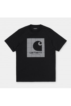 T-SHIRT S/S REFLECTIVE SQUARE